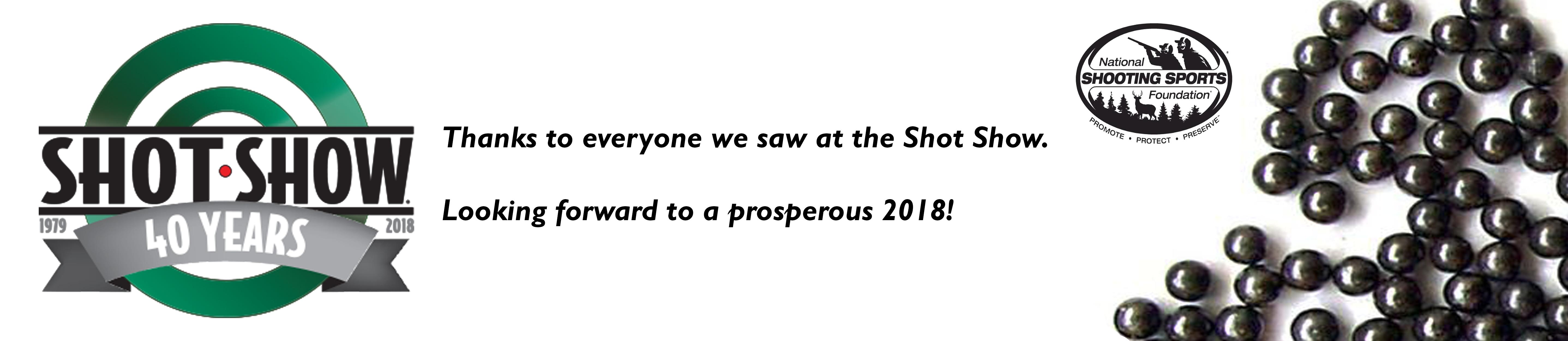 Shot Show Thanks